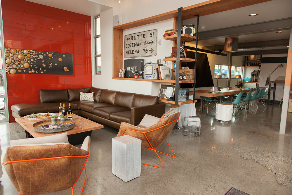 The Lark Hotel in Bozeman, Montana - Event inspiration with gorgeous mid-century modern design