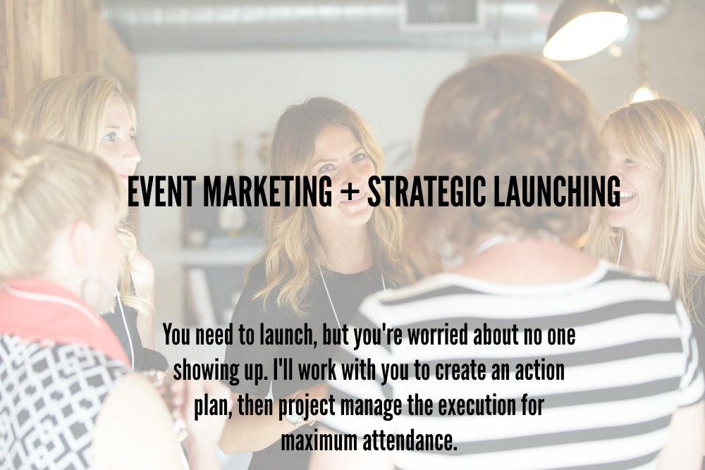 Event Marketing and Strategic Launching