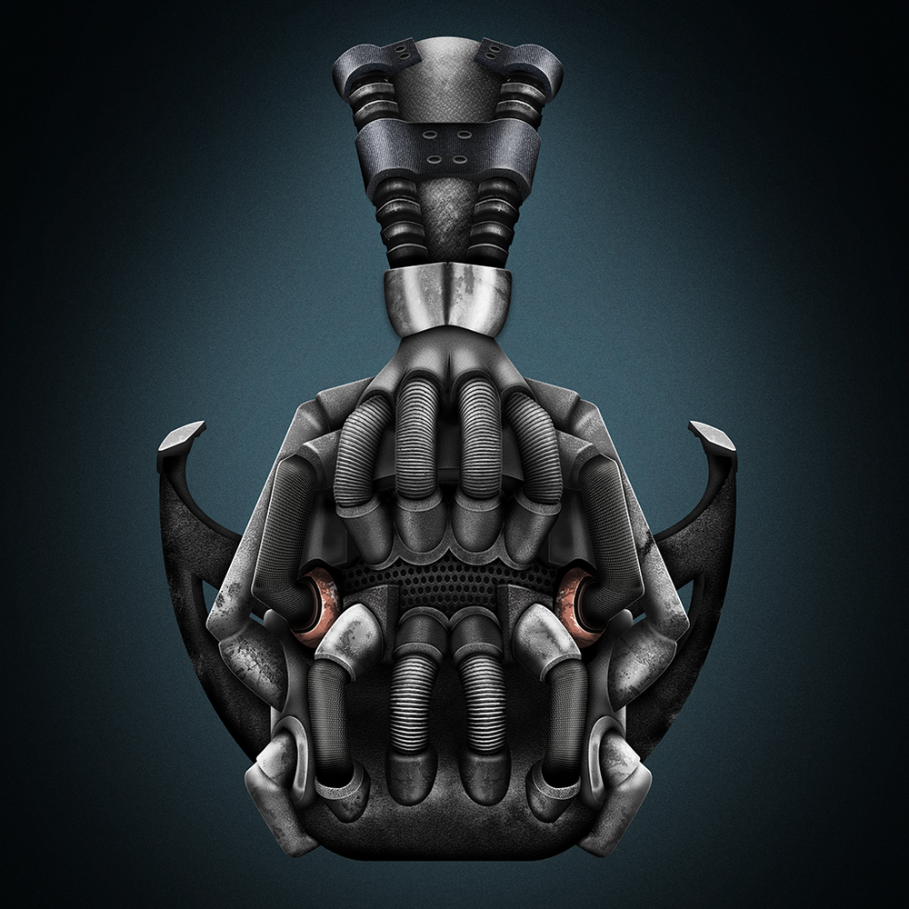 The Dark Knight Rises: Bane's Mask