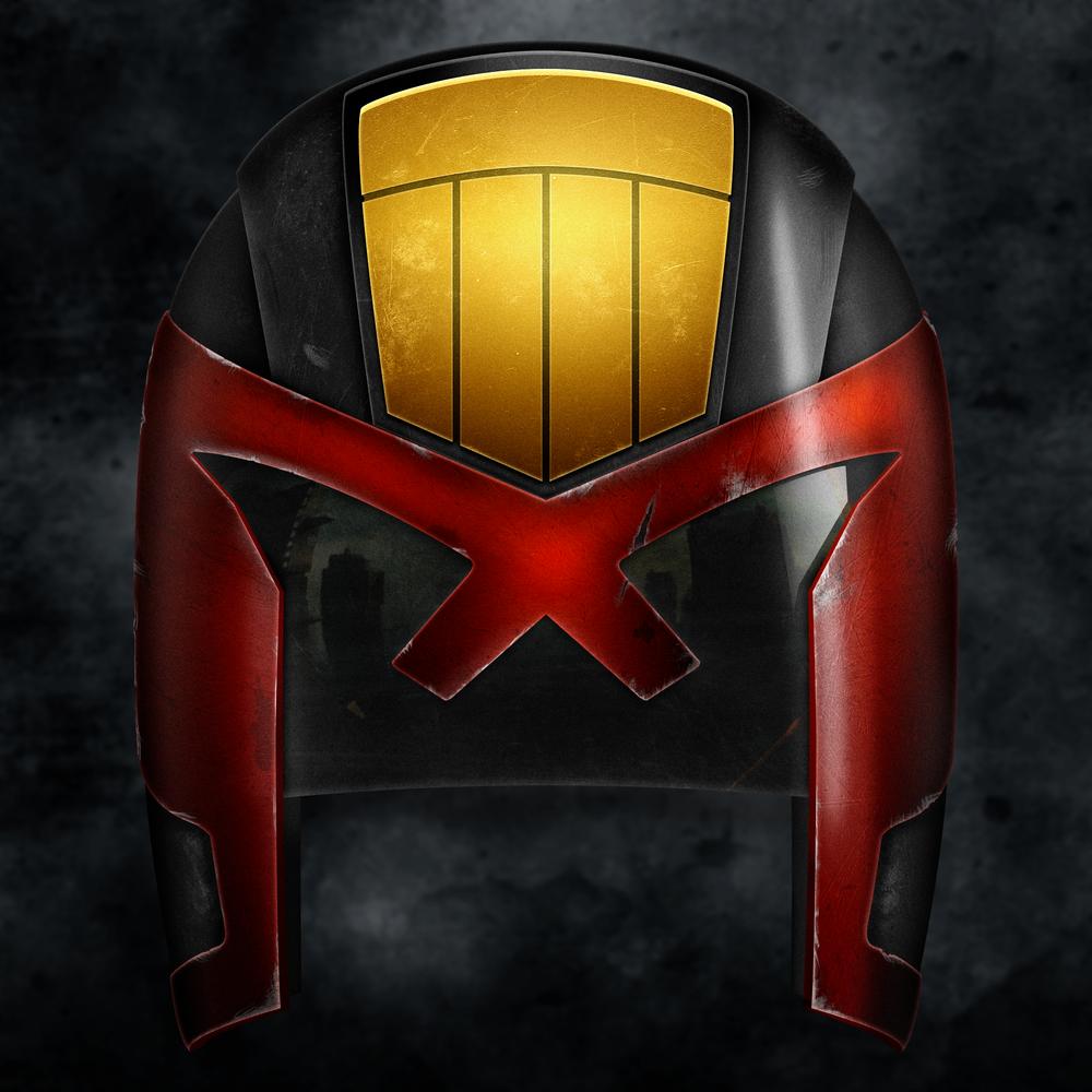 DREDD: Dredd's Helmet