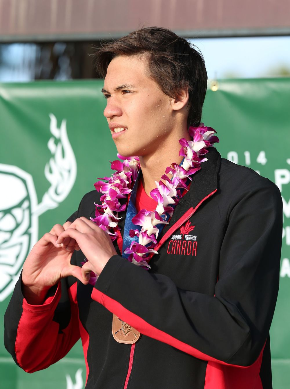 Thormeyer, Bronze medalist at 2014 Junior PanPacs in Kihei, HI