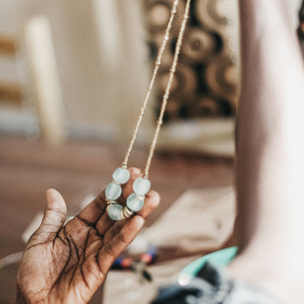 {1} Bringing Freedom    to Uganda - International Sanctuary welcomed its first cohort of girls in Africa last year. After just 3 months of dedication, learning, and hard work, girls in the Uganda Sanctuary were producing sellable jewelry and generating revenue.
