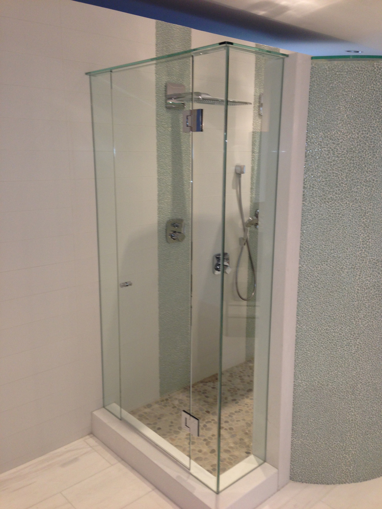 Thinking Of A Frameless Glass Shower Door For Your Bathroom Here