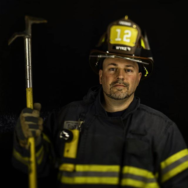 I became a #volunteer #fireman because that's all I knew. I'm a third #generation #firefighter. My #grandfather, #father, and older #brother all #volunteered as well. I keep #volunteering because I love it, I love #protecting the #community I grew up in. - Brad Wyke, #McDonald #Volunteer #Fire #Department