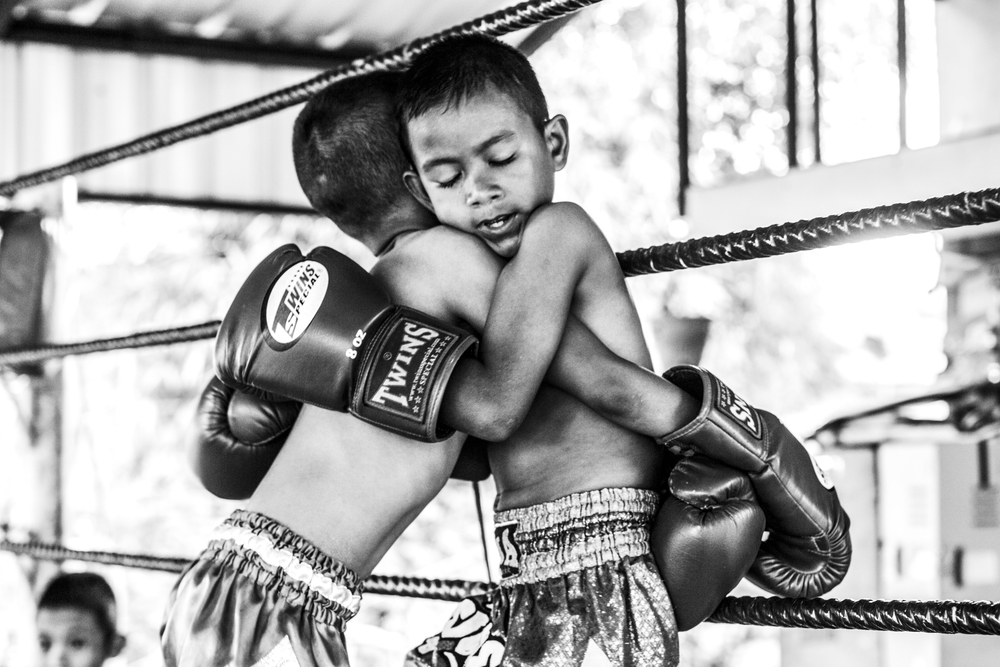 Mid-Fight (July 11, 2014 - Tha Sala, Thailand)