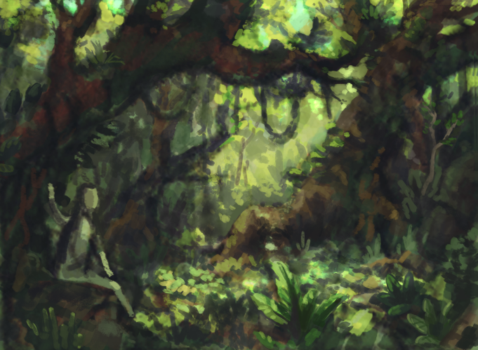 I'm in Hawaii for vacation(!!) and it's making me feel guilty about how poor my flora painting skills are.. trying to fix that!   Been feeling shy about posting studies to my  studies blog … so many new followers recently eeeeek!;;;