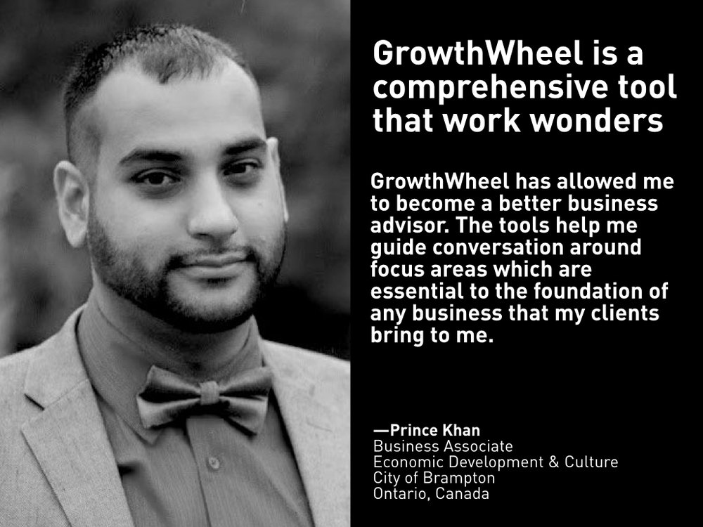 Testimonial from Prince Khan, City of Brampton
