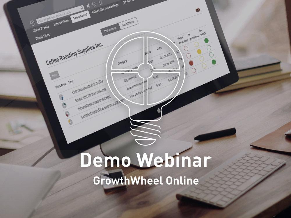 GrowthWheel Online Demo Webinar