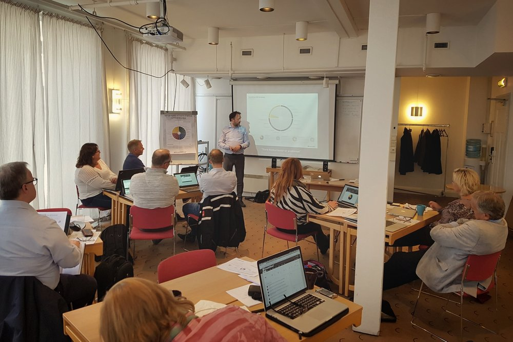 GrowthWheel Certification in Trondheim, May 2017