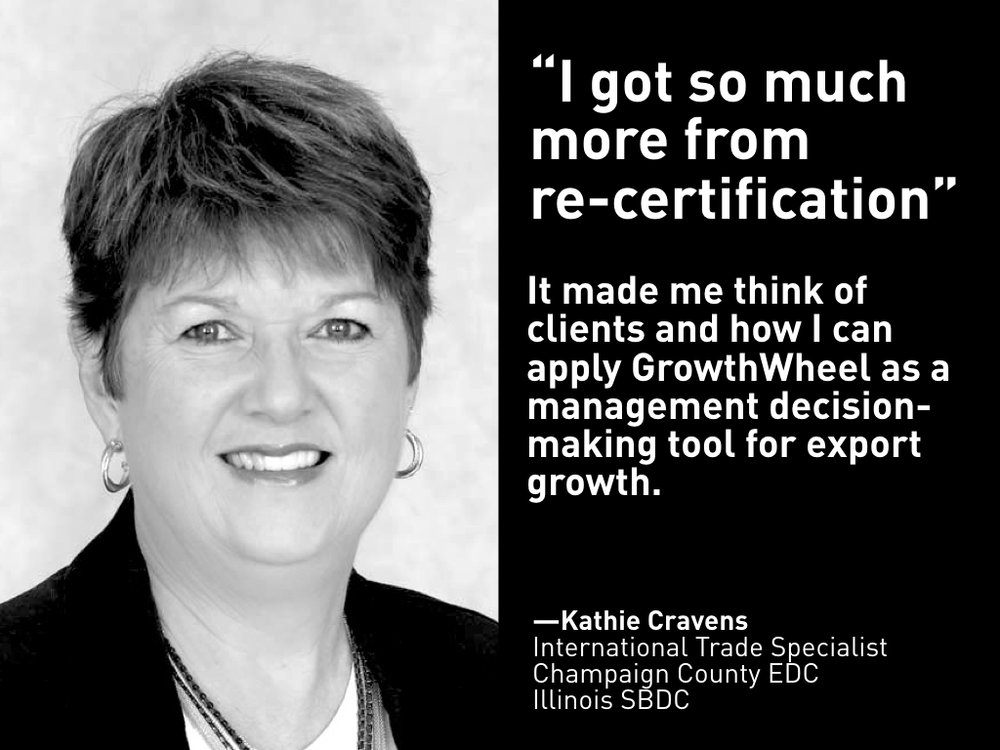 Kathie Cravens, Illinois SBDC at Champaign County EDC