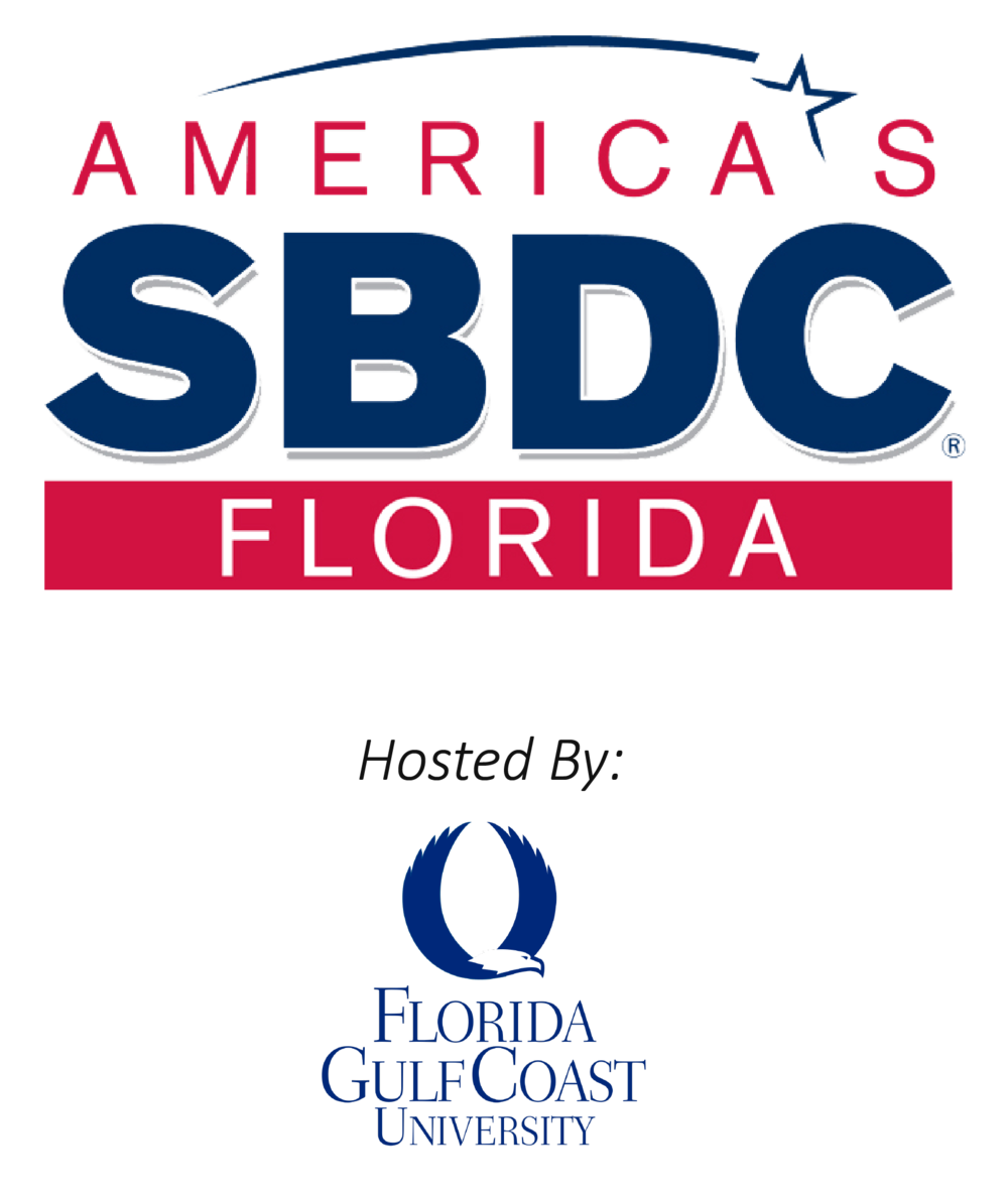 FSBDC FGCU Combined Logo Master Color w Blue Eagle- As Of 5-2-2017-01.png