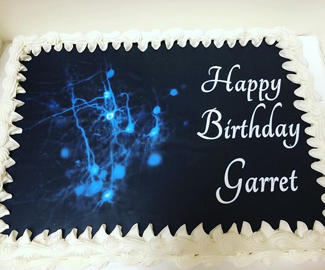 Happy Birthday, Garret!  Here's to an awesome first UNC Neurobiology Retreat! 🔥⚽️🚣🌲