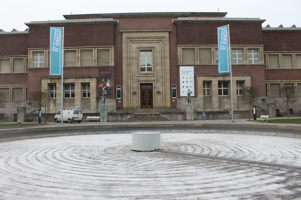 Kunst Palast ,  Düsseldorf, Germany, February 2012. Photo by N  omi Mishkin