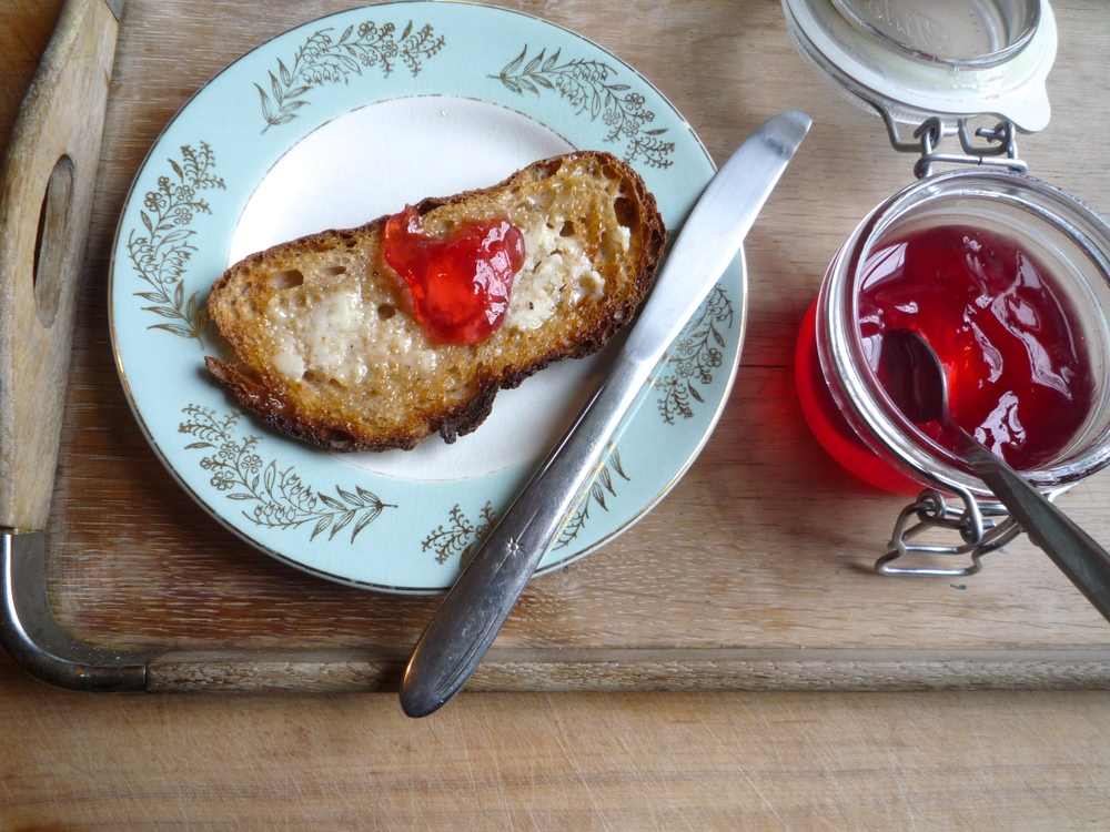 fig. e:  crabapple jelly for breakfast 1