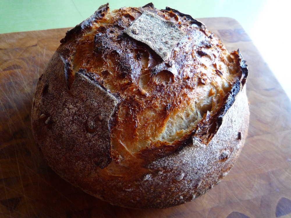 fig. l:  honey-oat loaf