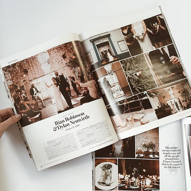 Reminiscing and still dying over this artistic wedding I had the pleasure of working, and also attending.  @caskro's mad skills captured it perfectly. So fun Primping the talented @_tuesdayshop for her magical day. And being featured in @seattlemet Bride & Groom was just icing on the cake!! ⚡️⊚⊳≣⊡⚡️ Happy almost anniversary you two love birds!! 💫💕 #bemywife2015