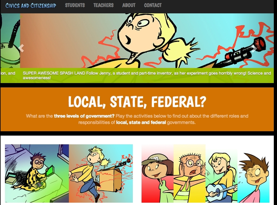 Parliament Victoria  - Local ,State ,Federal. A simple but very effective interactive game to demonstrate the differences between local, state and federal governments.