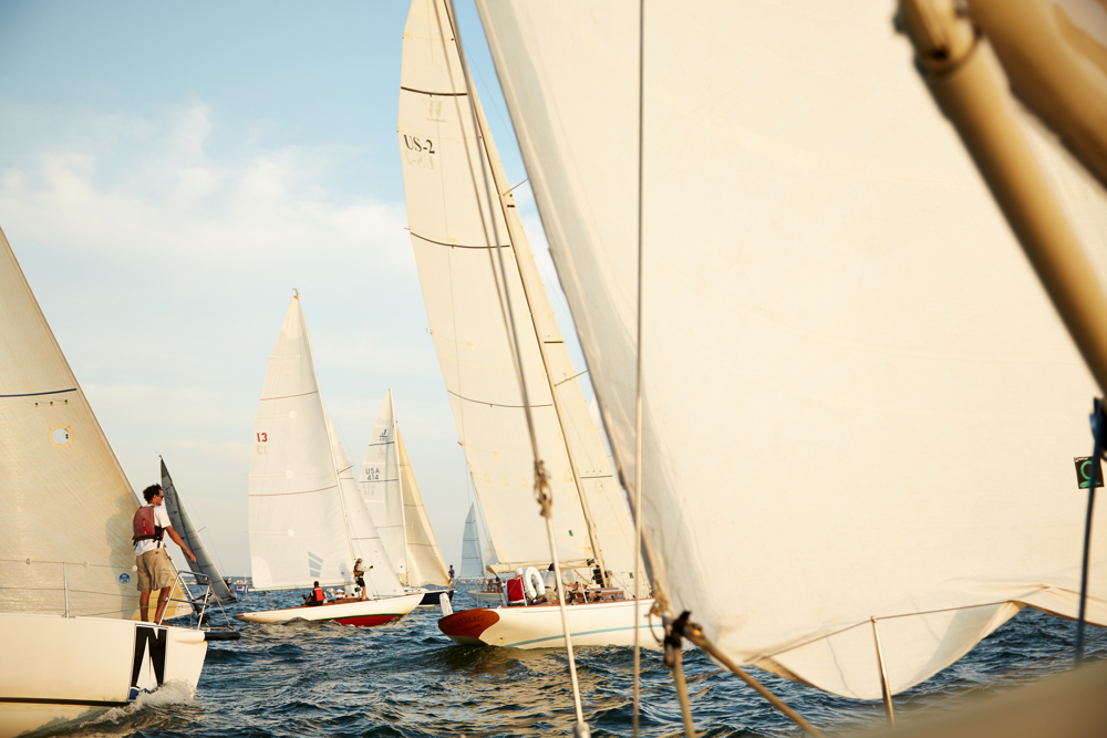 sailboat race, nantucket, 2013