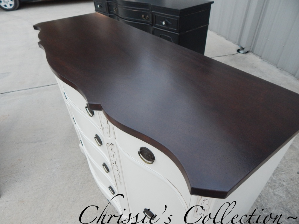 Java Gel stained top