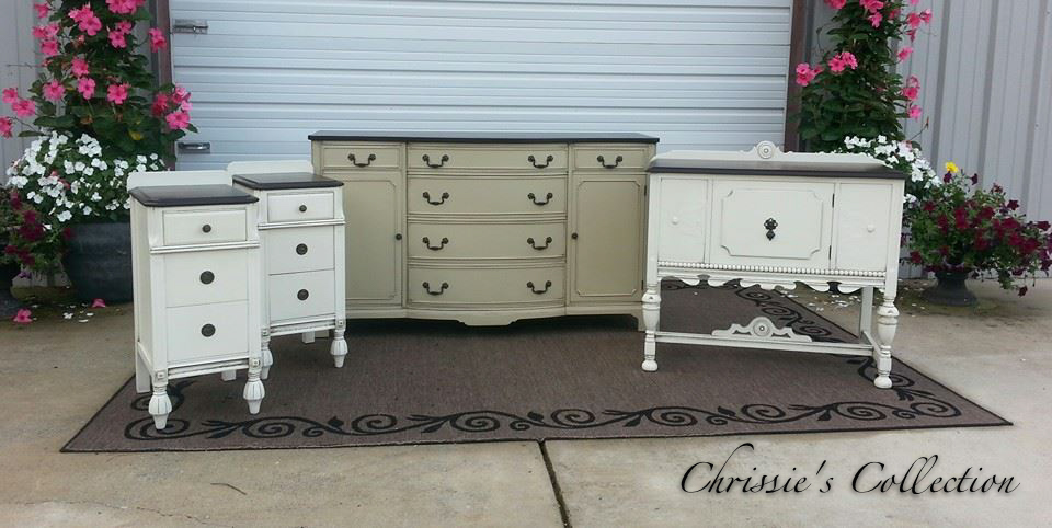 Painted furniture by Chrissie's Collection