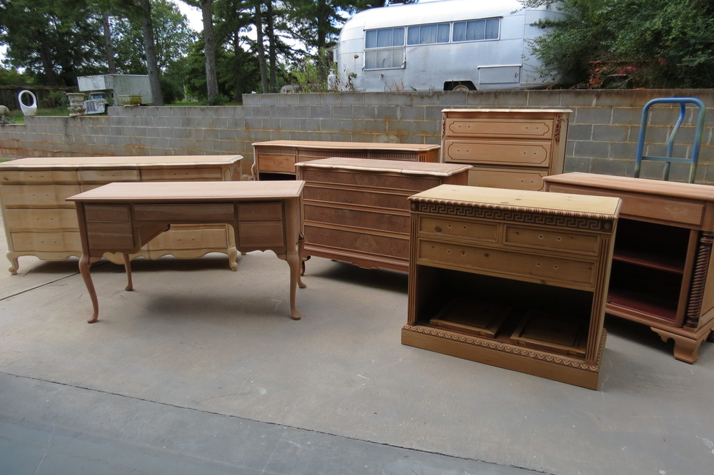Sanded furniture
