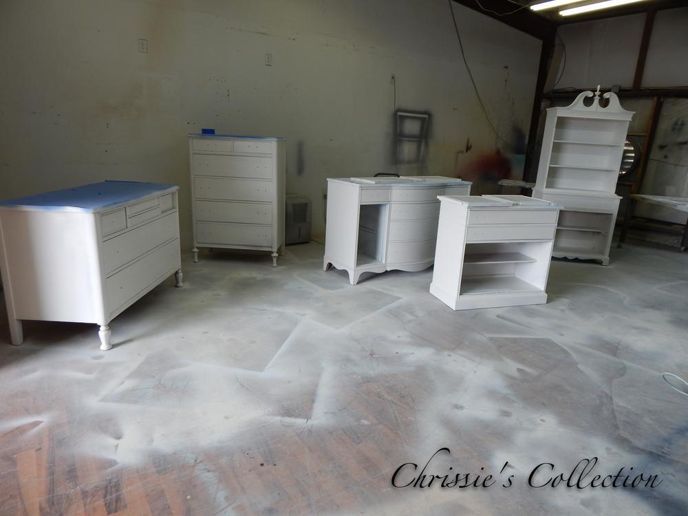 primed furniture