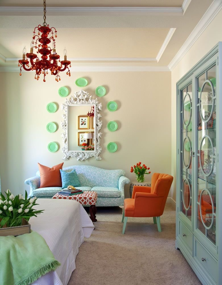 Some color inspiration from Tobi Fairley, one of my favorite interior designers. Via http://tobifairley.com/portfolio/