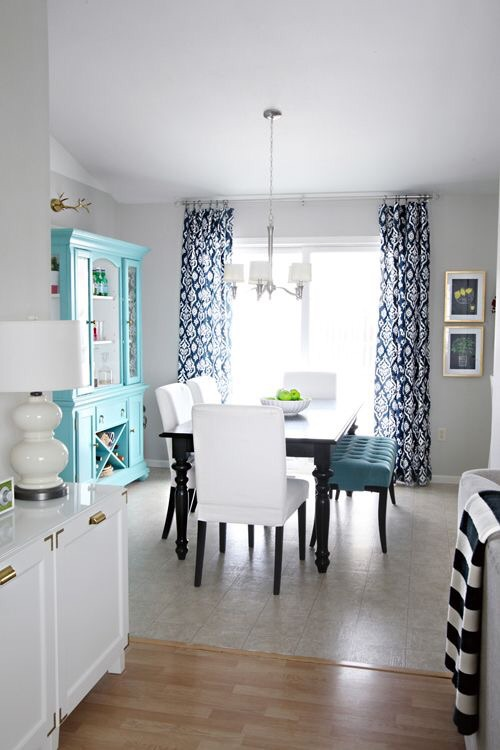 Aqua and Navy, swoon! Via~   http://iheartorganizing.blogspot.com/2014/07/why-iheart-organizing-and-thoughts-on.html?m=1