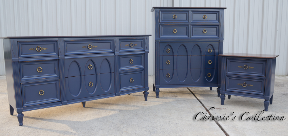 Navy Blue Bedroom Furniture Chrissie 39 S Collection