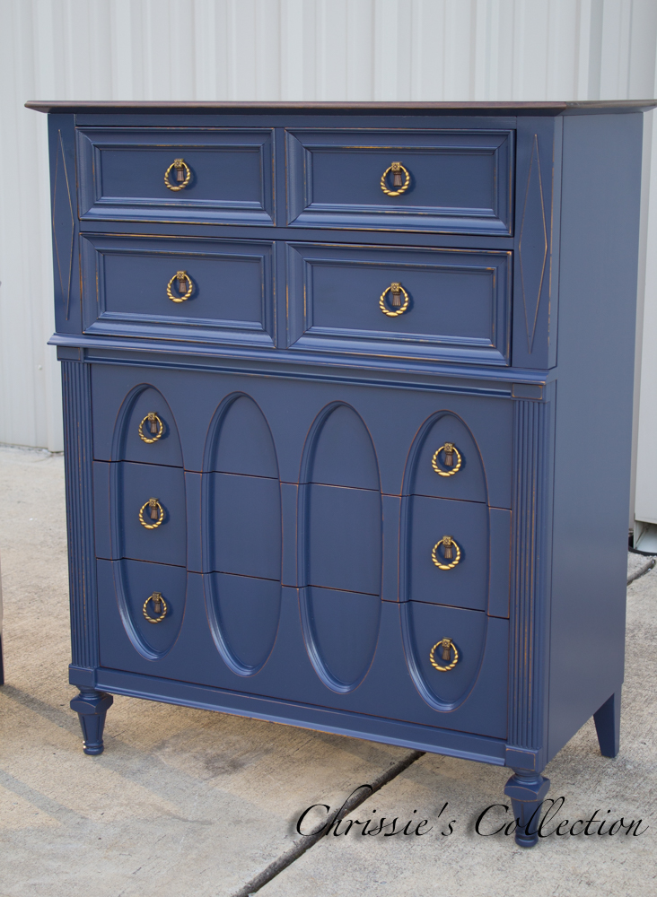 Navy Blue Bedroom Furniture — Chrissie\'s Collection