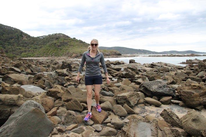 Beach walk Lorne