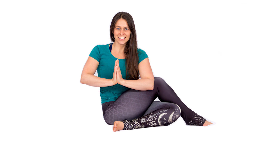 Eveline, Owner and Founder of Flow Through Yoga ERYT since 2013.