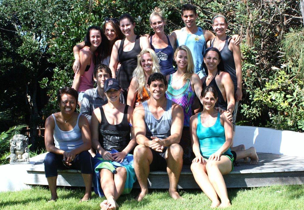 Essence of Living Yoga Retreat 2011, Byron Bay NSW.
