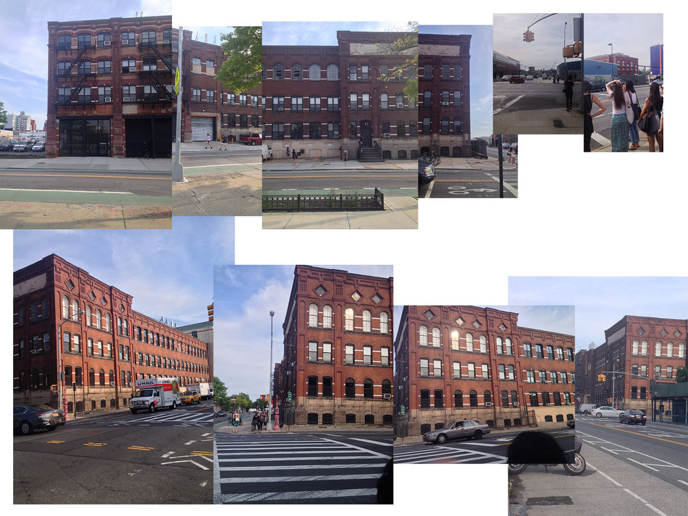 Re-constructed views of The Old American Can Factory, Brooklyn, NY 11215.