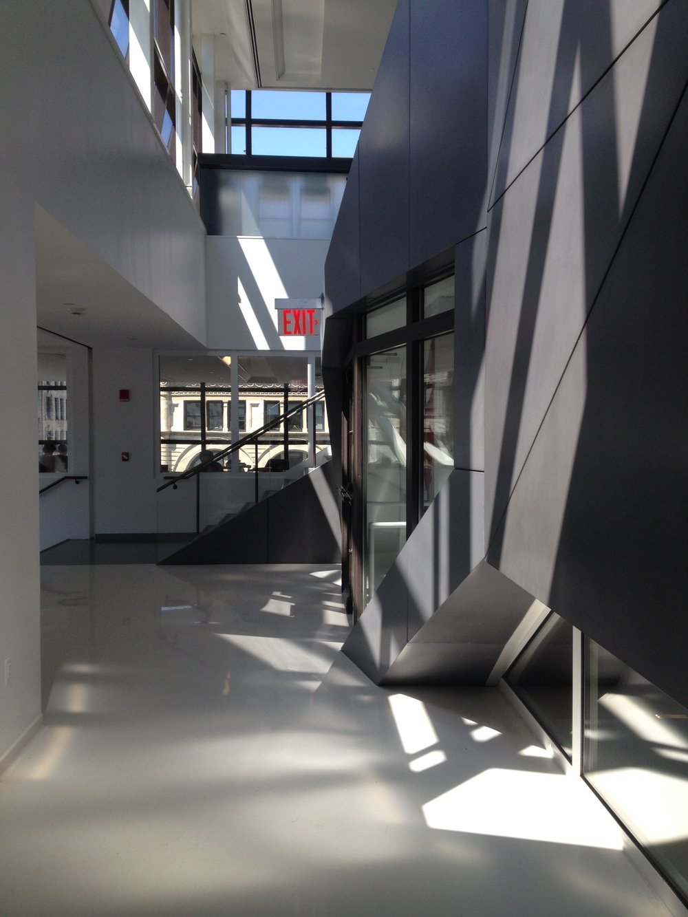Original View of University Center