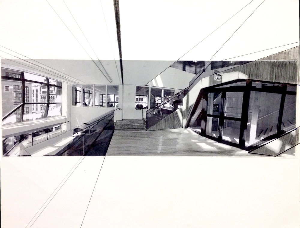 University As Space Collage + Narrative