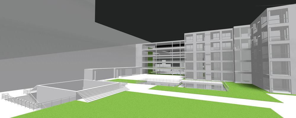 Exterior Rendering - Rooftop
