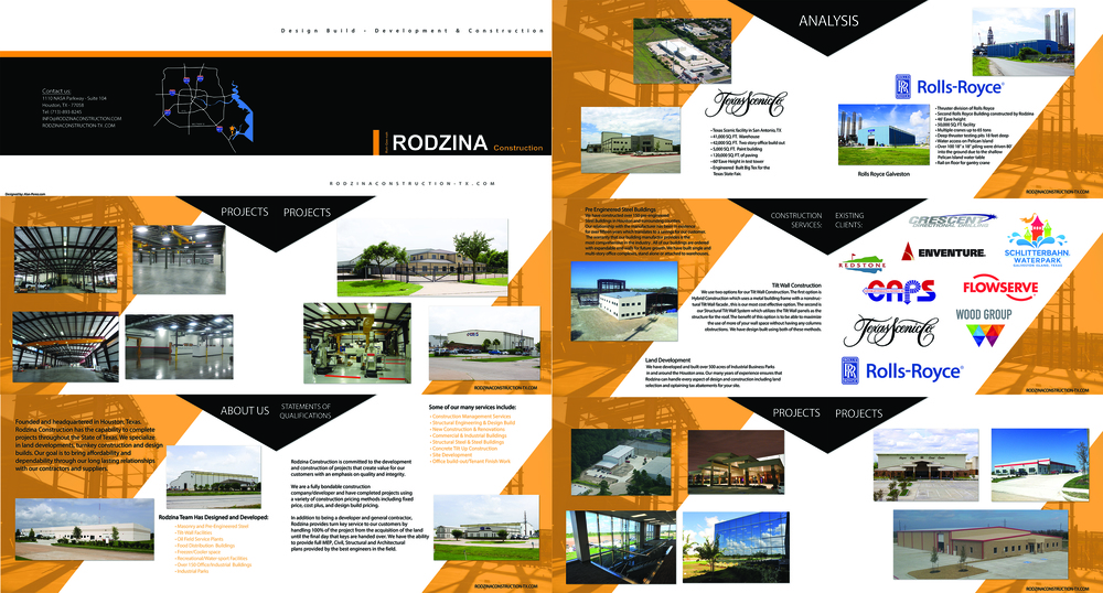 Personal Portfolio – Pamphlet Layout