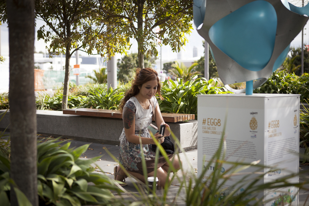 An Easter Egg-scursion  This Easter, Kiwis can take part in  The Whittaker's Big Egg Hunt , the first event of its kind in New Zealand, showcasing 100 giant eggs designed by New Zealand artists to help raise funds for Starship Foundation. All the eggs, hidden throughout Auckland, Wellington and Christchurch, are being auctioned off to support the national children's hospital, which provides world-leading care for almost 120,000 patients each year.  Starship Foundation approached Curative to create The Big Egg Hunt's official site. Aria and Kaan spearheaded the design, in collaboration with our ever-awesome development partners,  96Black . Meanwhile, Starship also invited me to be one of the artists, to paint one of the giant eggs. Team Curative then had the lucky privilege of contributing to this event from these two very cool prisms.  With this event well under way, it was awesome to see how much fun people are having with the event — taking their families out on hunts in the weekend, collecting points, supporting the cause. Seeing a community fully embrace and be mobilised by an event of this scale; an event that is very fulfilling to support on so many levels — from playing in on the hunt, to enjoying works of art in public spaces, to supporting both local artists and the children at Starship during the auctions. It was amazing to see the power and resonance of a great idea: an idea that combines the best of our human attributes — creativity, beauty, play and generosity.  There's still time to join in on the hunt to win a unique 18ct Whittaker's Gold Slab, or, to support the artists and Starship Children's Hospital by bidding on one of the eggs here.   Happy egg hunting!  Meghan and Aria