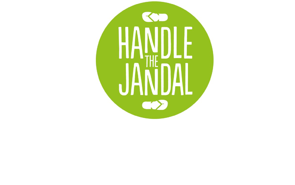 handle the jandal logo