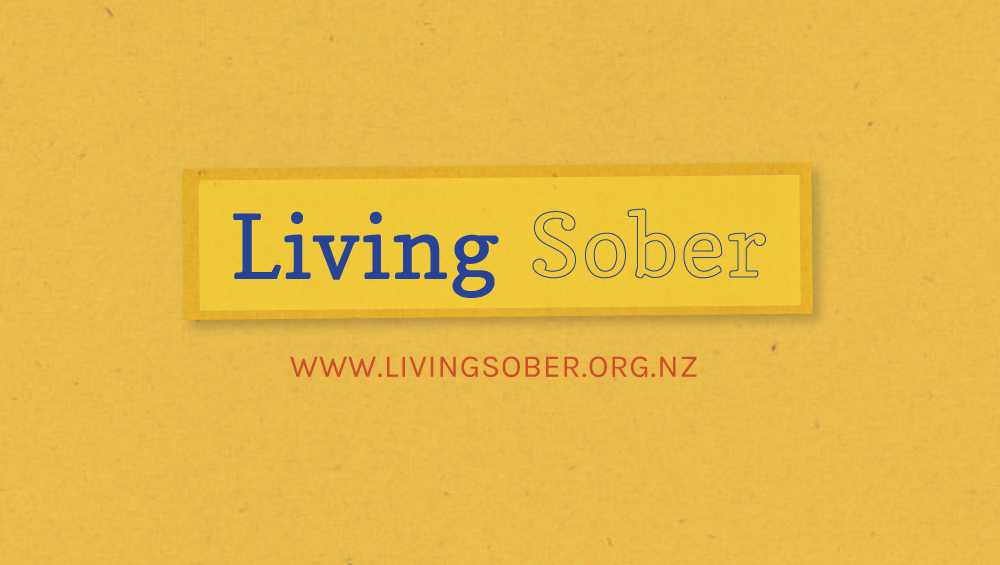 Living Sober A community of support for people reducing the harms of alcoho