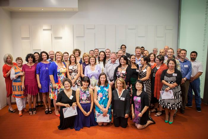 Our Leadership NZ cohort at Opening Ceremony (KPMG, February 2015)