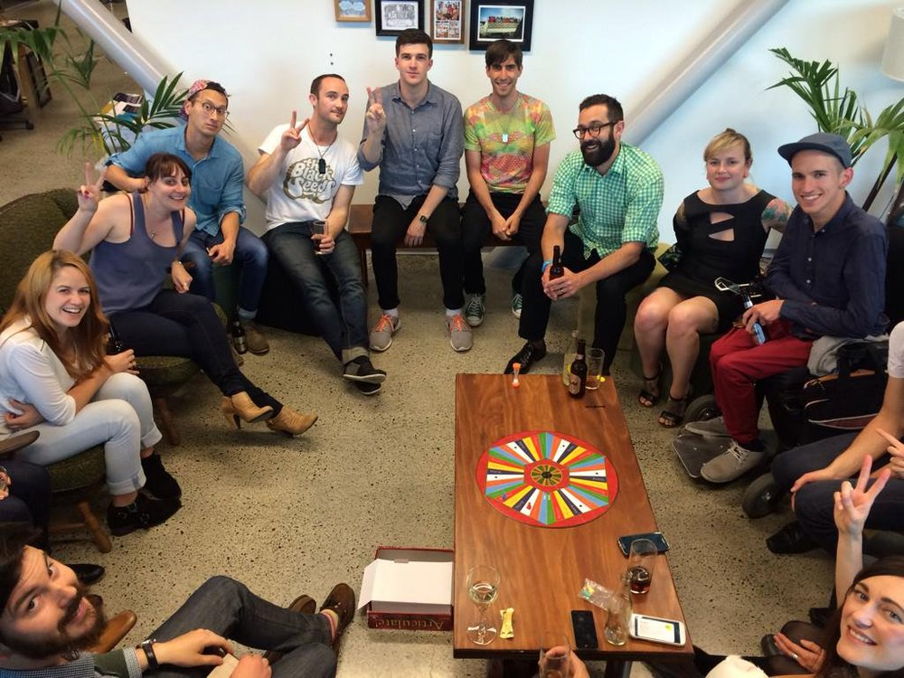 Curative board games & beverages with friends