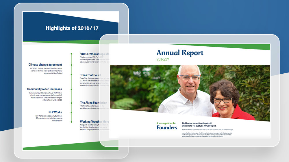 Tindall Foundation Annual Report