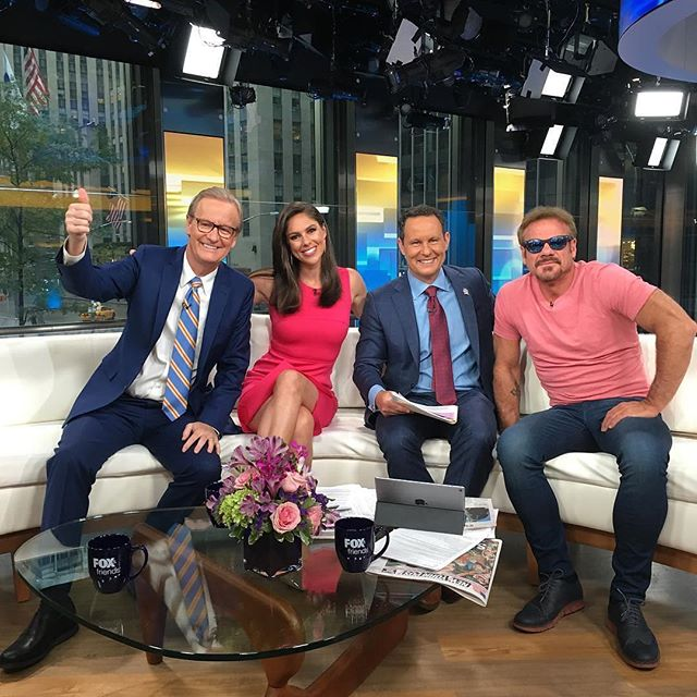 Thank you to everyone who tuned in this morning on @foxandfriends - had a great visit from Phil Vassar!