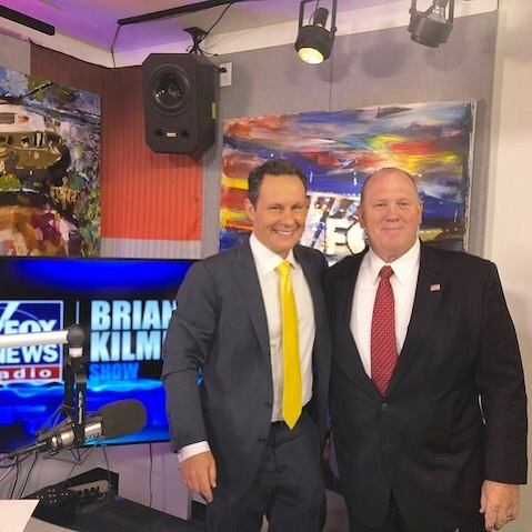 Former acting Director of ICE Tom Homan joined me today to discuss President Trump's full support of ICE and why he takes it personally when politicians call ICE incompetent. Listen to the full interview at briankilmeadeshow.com