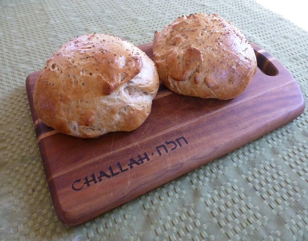 This week's loaf: Il Pollo (Italian Yom Kippur Challah with Anise and Olive Oil), from Jeff Hertzberg and Zoe Francois'  Healthy Bread in Five Minutes a Day .