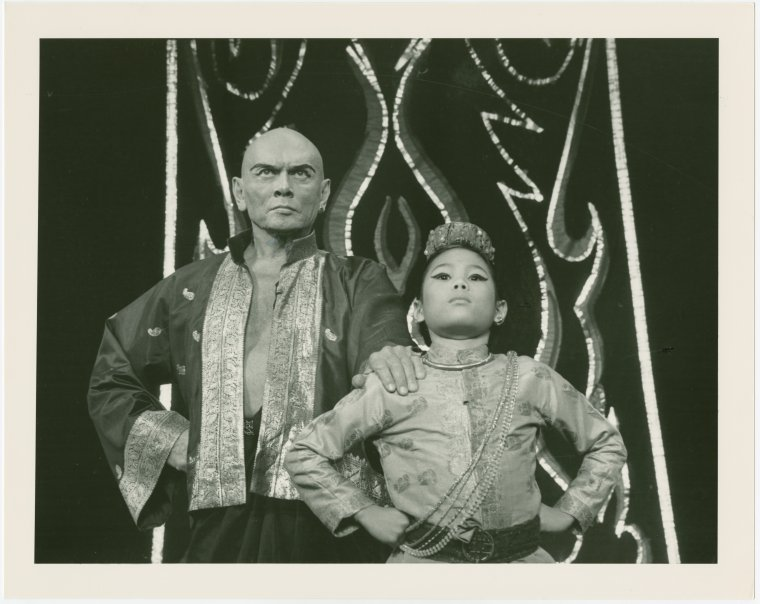 Yul Brynner and Prince Chulalongkorn (not me!)