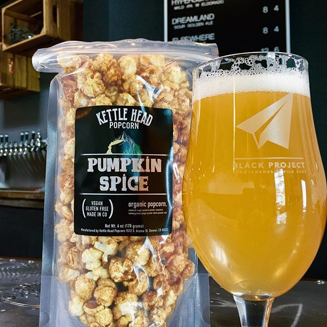@blackprojectbeer has some of the best spontaneous and wild ales we have ever tried! They also just picked up our Pumpkin Spice and Maple Kettle Corn. #pumpkinspice #sourbeer
