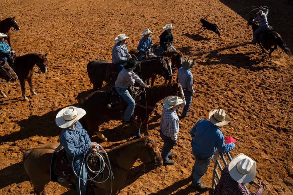 Central Florida Rodeo Association's Youth Rodeo. Lakeland, Fla.
